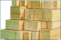 Brettschichtholz oder Leimholz