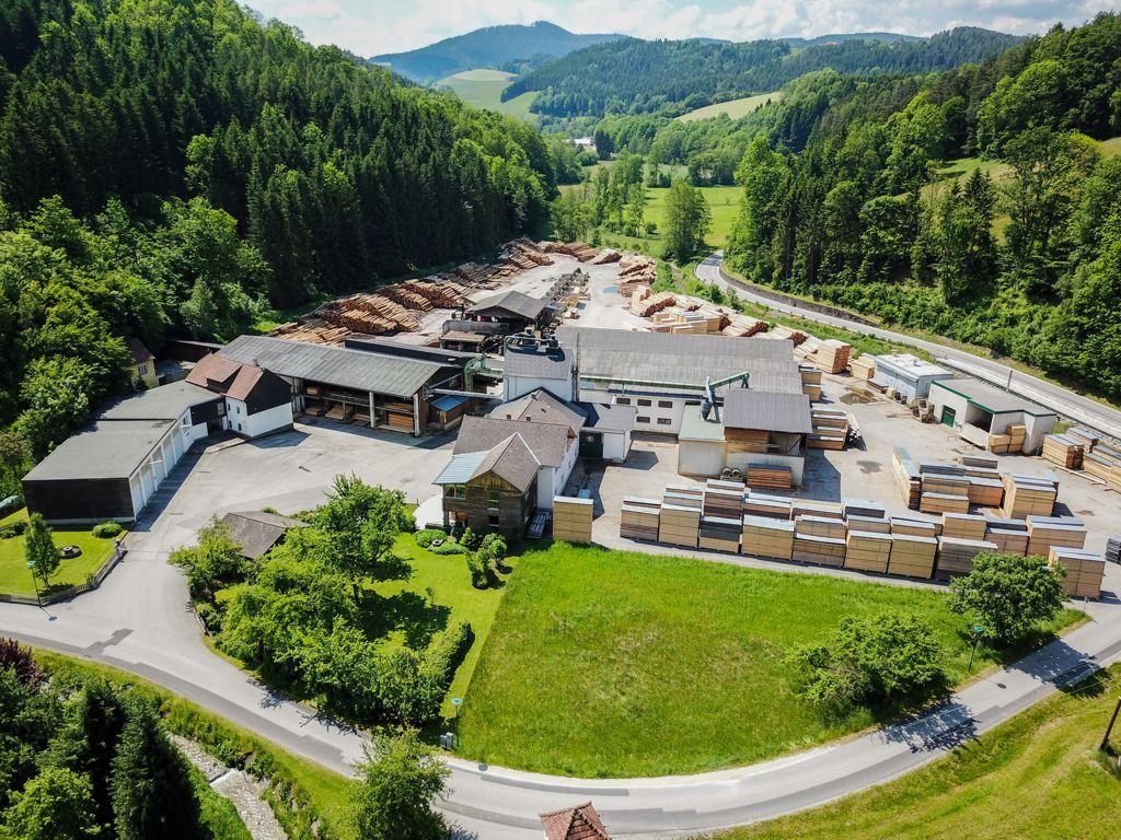 Das Sägewerk in Bromberg heute